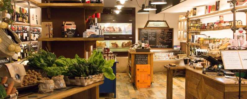 Have you been to our new gourmet shop?